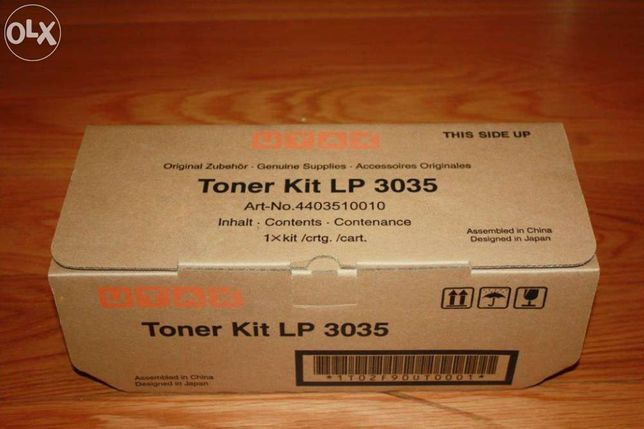 Toner original utax lp 3035