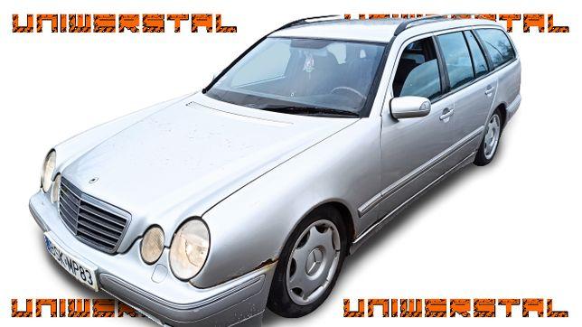 Mercedes E 200, 2.0 benz. 2000r., Automat, Kompresor, długie OC i BT !