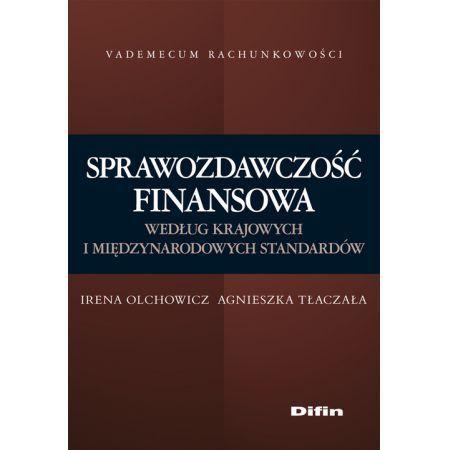 Sprawozdawczość finansowa, I.Olchowicz, A.Tłaczała 2008 r.