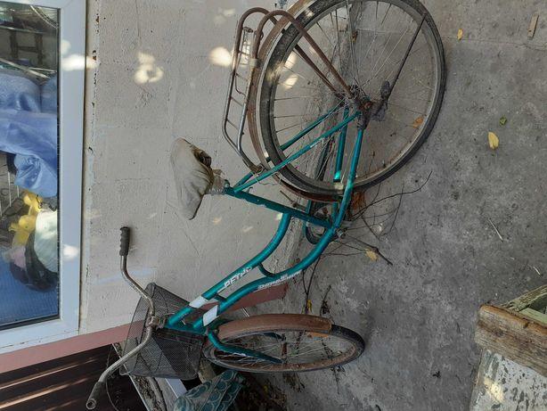 Велосипед требуется ремонт