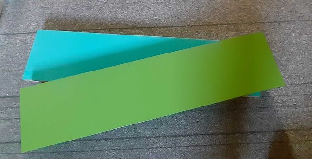 Ikea półka Lack -zielona