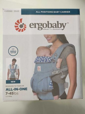 Рюкзак-переноска Ergobaby Omni 360 Baby Carrier All-In-One (3.2-20 кг)