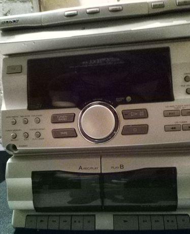 Sony RX33 z kolumnami 6 Ohm