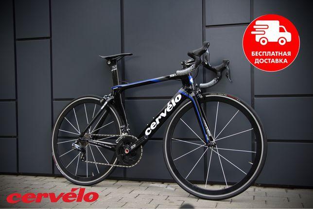 Карбоновый велосипед Cervelo S5 di2 trek scott canyon bmc bianchi