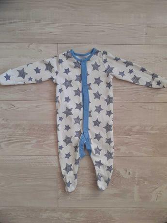 Pajacyk niemowlęcy dla chłopca marki F&F. Rozmiar 56 cm