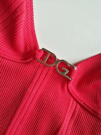 Strój kąpielowy D&G Dolce&Gabbana malinowy S/M
