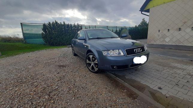 Audi a4 b6 1.9tdi - okazja, czarne wnętrze, opony letnie i zimowe