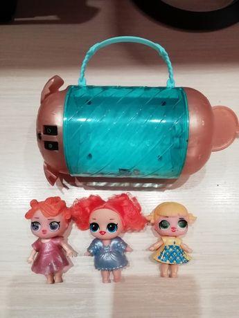 4 разных набора куколок лол куклы LoL + капсулы шары