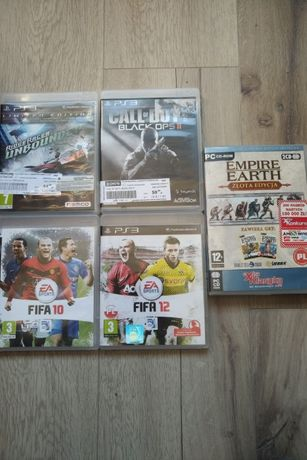 Gry ps3 fifa call of duty