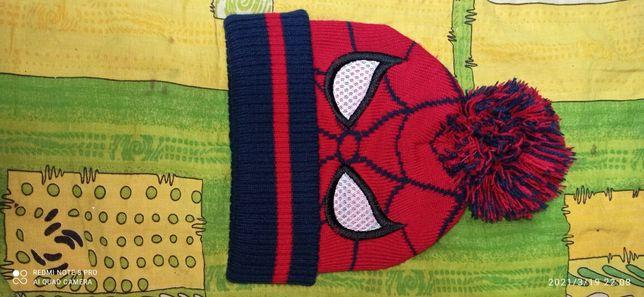 Человек паук одежда шапка для ребёнка