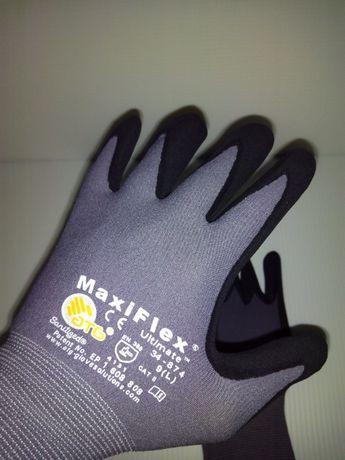 Luvas nylon revestido espuma poliuretano-PU 34-874 Maxiflex