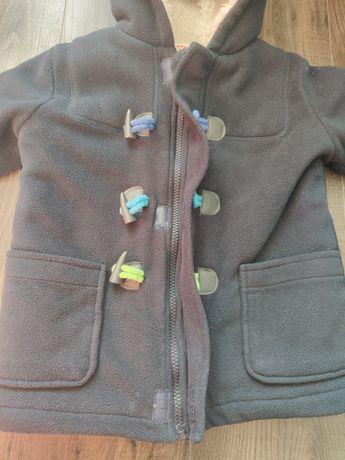Bluezoo ciepły płaszczyk kożuszek polar dla chłopca zima 4-5 lat