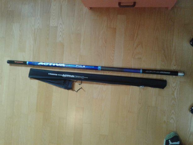 Nowa wędka bat teleskop. Trabucco ACTIVA STX 9m wł. węgl. SHMR okazja