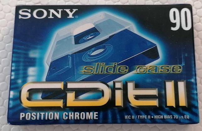 Cassete audio 90 min, da SONY