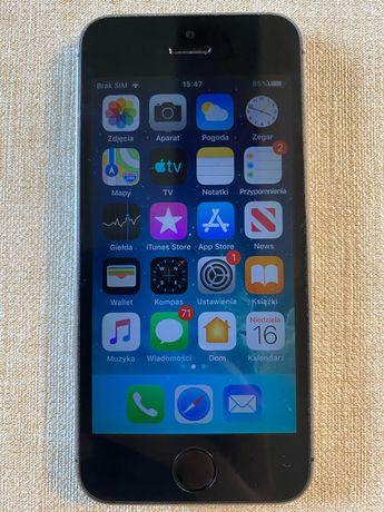 IPhone 5s z etui i opakowaniem