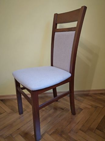 Krzesło Gerard 2 (lite drewno bukowe!) wiśnia/orzech