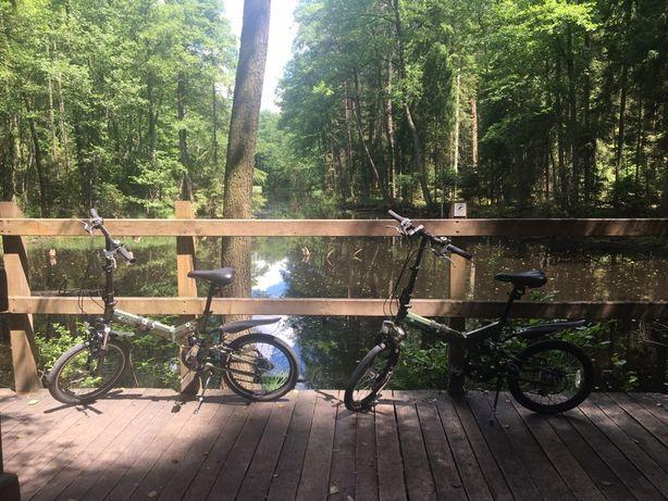 Składany rower z amortyzatorami 2szt.