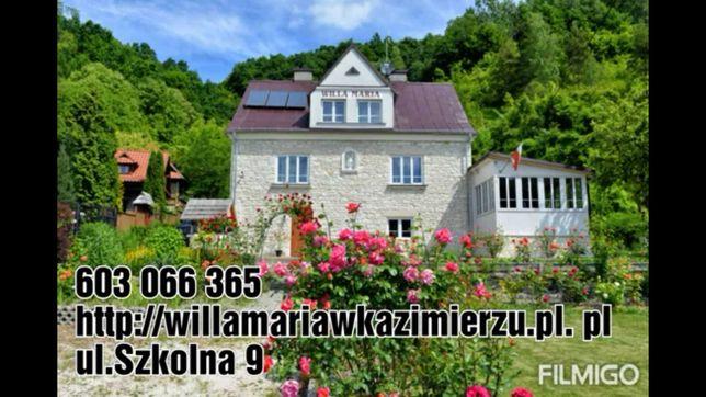 Kazimierz Dolny noclegi Willa Maria