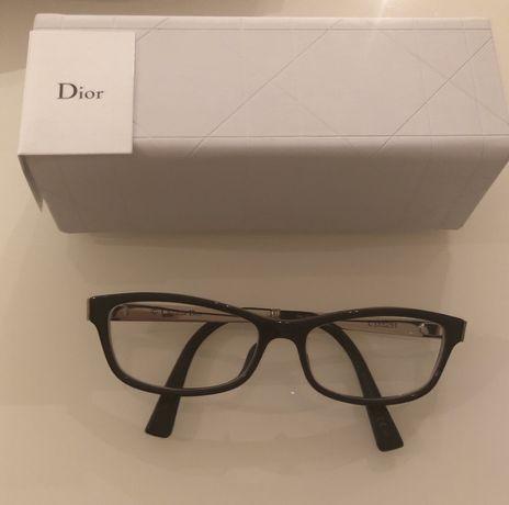 Okulary korekcyjne Dior* nowe *szkła Crizal Forte* moc -1,5