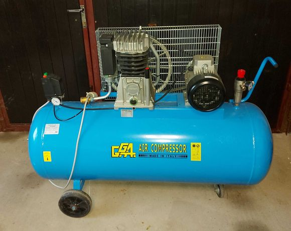 kompresor, 4kw, 270l, 610 l/min