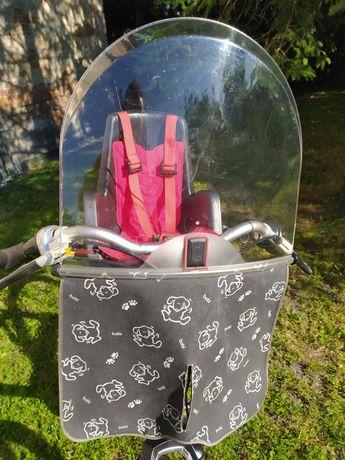 Fotelik rowerowy Bobike Mini przedni wyprzedaż zestawów i części
