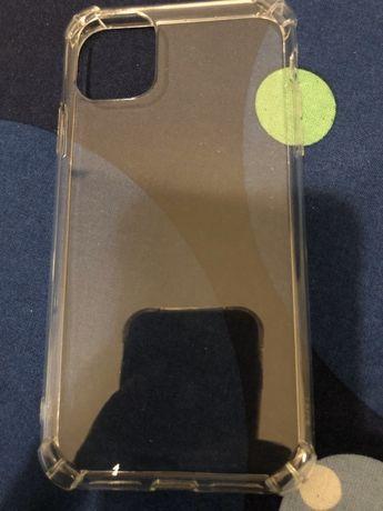 Novo Capa iphone 11  transparente