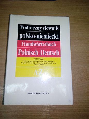 Podręczny Słownik POLSKO NIEMIECKI Bzdęga