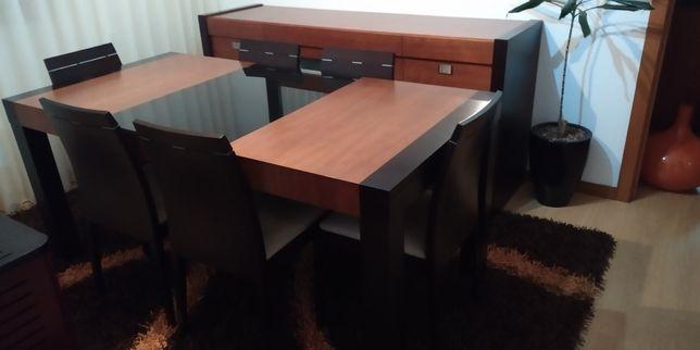 Mobiliário de Sala de jantar.