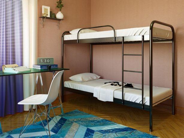 АКЦИЯ!!! Двухъярусная кровать Relax duo Релакс Дуо металл кровать
