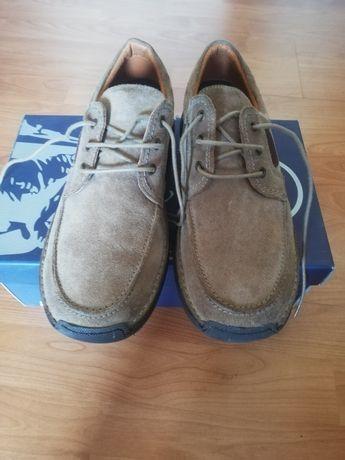 Sapatos homem pele camurça