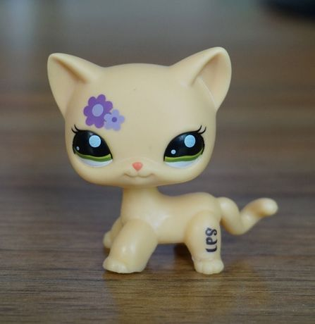 Littlest Pet Shop Lps Kotek Shorthair Kot Figurka