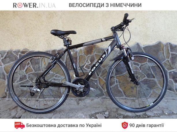 Велосипед гібрид бу з гідравлікою Focus Black Falls 28 M19 / Велосипед