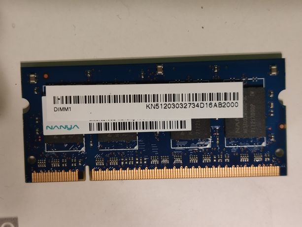 Оперативная память / ОЗУ SO-DIMM DDR2 512mb 667МГц для ноутбука