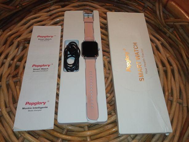 Smartwatch Popglory JAK NOWY Fitness Tracker