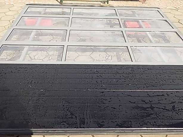 Brama garażowa panelowa segmentowa 367x389cm