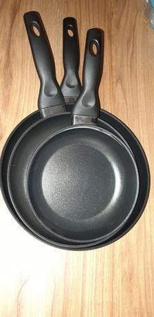 Patelnie ceramiczne komplet nowe nie używane.