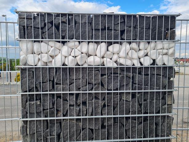 Granit Szwed Kamień do gabionów gabionu grys czarny łupek granitowy