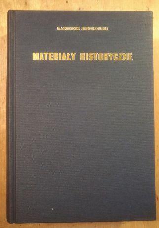 MateriałyY Historyczne - Kazimierz Sosnowski