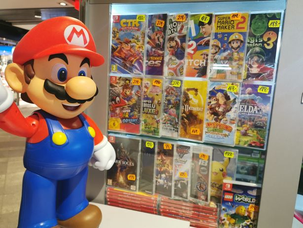 Nintendo switch Crash Yoshi Pokemon Mario luigi / Zamiana