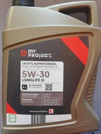Olej syntentyczny 5W-30 Longlife |||