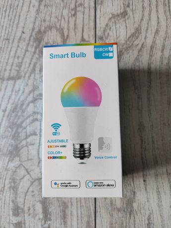 Żarówka LED E27 Smart z wifi Google assistant