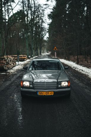 Auto do Ślubu/ Youngtimer, klasyk Mercedes w126
