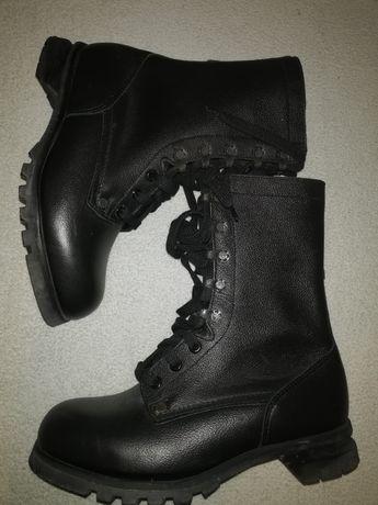 Buty skórzane wojskowe do jazdy konnej do ciężkich zadań robocze