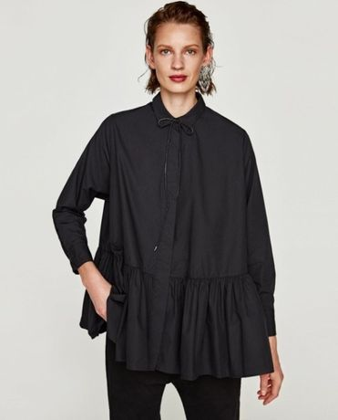 Czarna koszula Zara XS