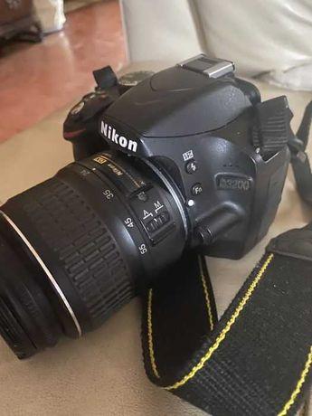 Camara Nikon D3200 + Objetiva 18/55 mm