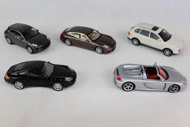 Модели 1:43 Porsche (Minichamps, Cararama)