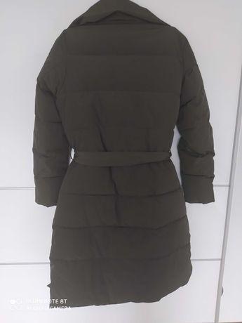 Super modny Płaszcz pikowany