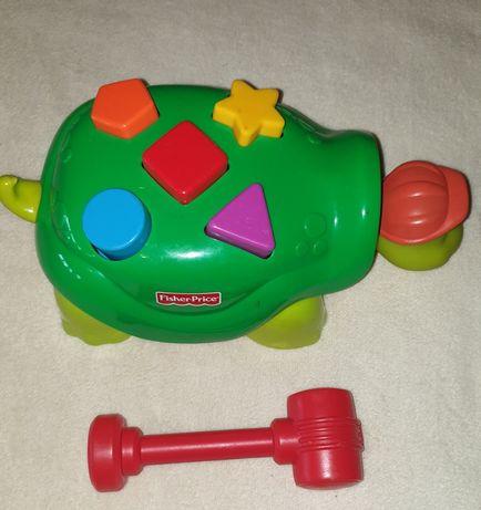 Fischer Price żółw zabawka
