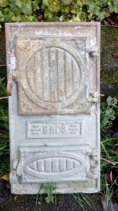 Дверки до пічки чавунні. Лисиничи - изображение 1