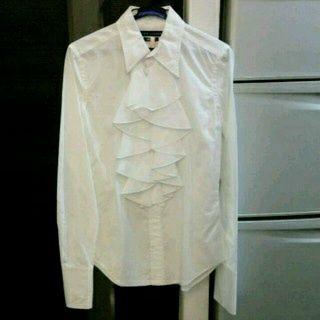Рубашка с рюшами Ralph Lauren